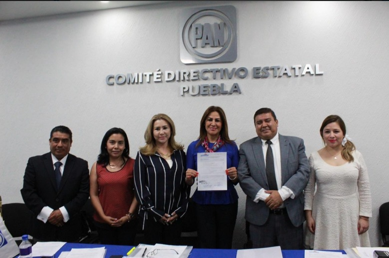 Se registran 5 aspirantes panistas para la gubernatura de Puebla