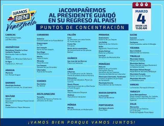Juan Guaidó convoca a todo Venezuela a salir a las calles