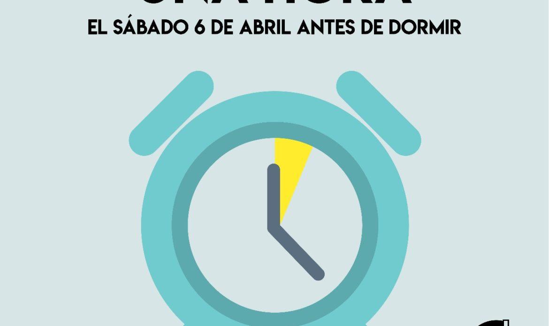 Este domingo 7 de abril inicia el Horario de Verano. ¡Que no se te pase!