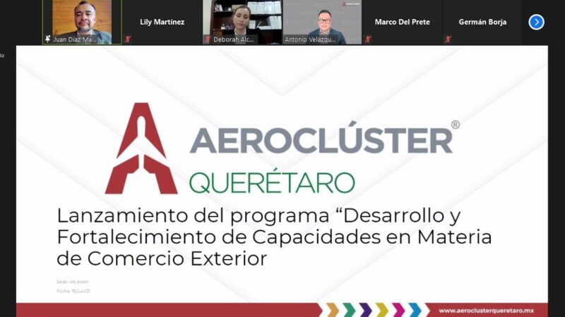 SEDESU y Aeroclúster fortalecerán capacidades de empresas en materia de Comercio Exterior