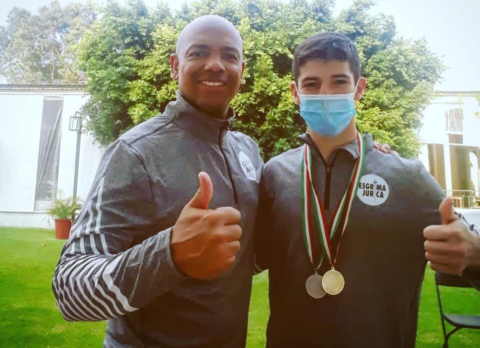 Queretano gana medalla de oro en Nacional de esgrima