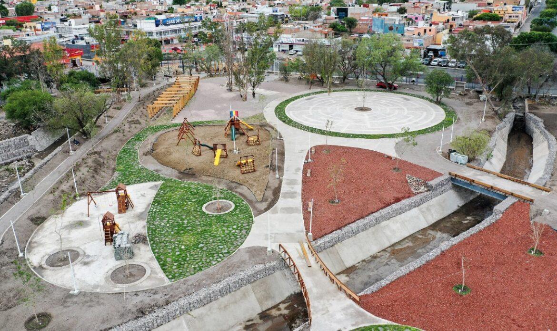 Nuevo Parque de Las Garzas en San Juan del Río se encuentra terminado