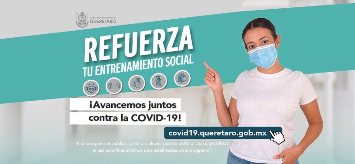 Secretaría de Salud recomienda fortalecer precauciones básicas para evitar propagación de la enfermedad COVID-19
