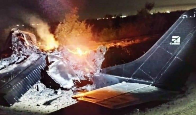 Se desploma avioneta en el Valle de Mexicali; hay dos muertos