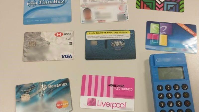 Detienen a 5 personas en SJR dedicadas al robo de tarjeras bancarias