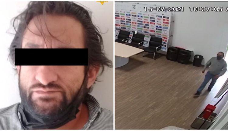 Sujeto que robo computadoras a Gallos Blancos fue detenido tras hurtar un celular en el Centro