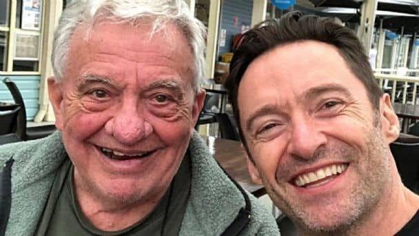 Muere el papá de Hugh Jackman, a los 84 años