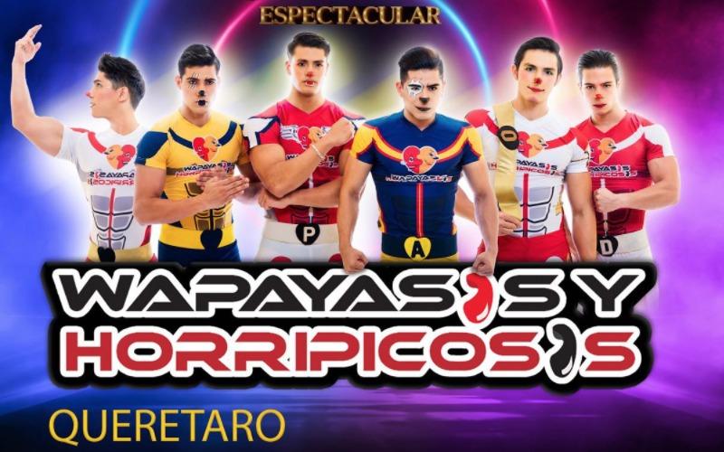 Wapayasos alistan show para volver a Querétaro