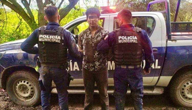 En persecución detienen a sujeto que robó vehículo con violencia